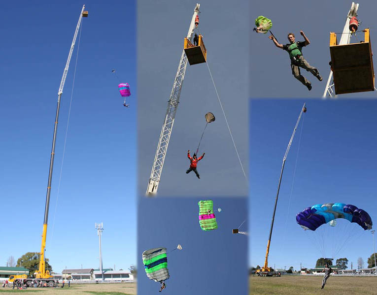 Wauchope Crane Jumps